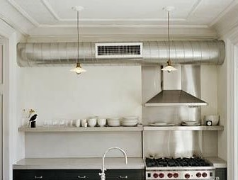 EXPOSED: HVAC Ductwork takes centre stage in modern interior design